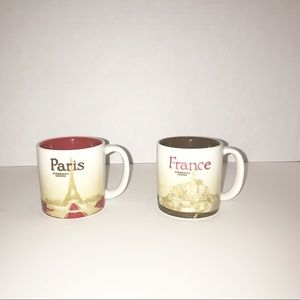 Starbucks Paris France Global Icon Espresso Mugs